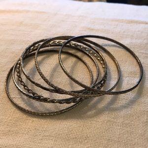 Sterling Silver Bangles Bracelets